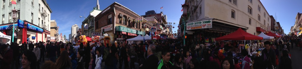 Panorama shot in SF